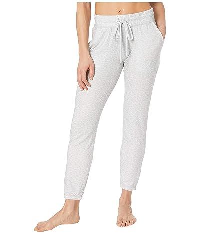 Beyond Yoga Printed Lux Lounger Pants (Gray Leopard) Women