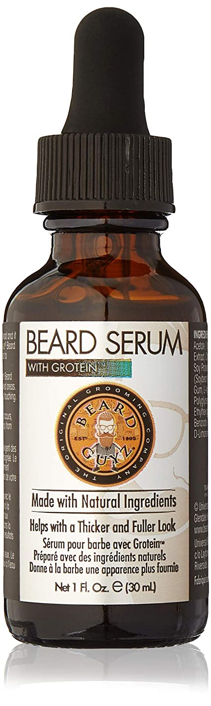 苦しみ排泄する倒錯Beard Guyz Grotein 20、1オンスでビアードセラム