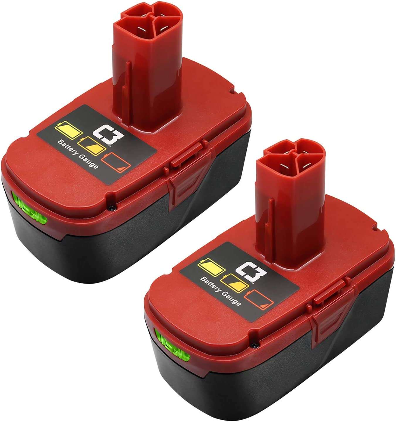 2 Pack 6.0Ah Lithium-ion shipfree Replacement Craftsman Batteries Ranking TOP4 for