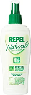 Repel DEET-Free Insect Repellent, Pump Spray, 6-Ounce