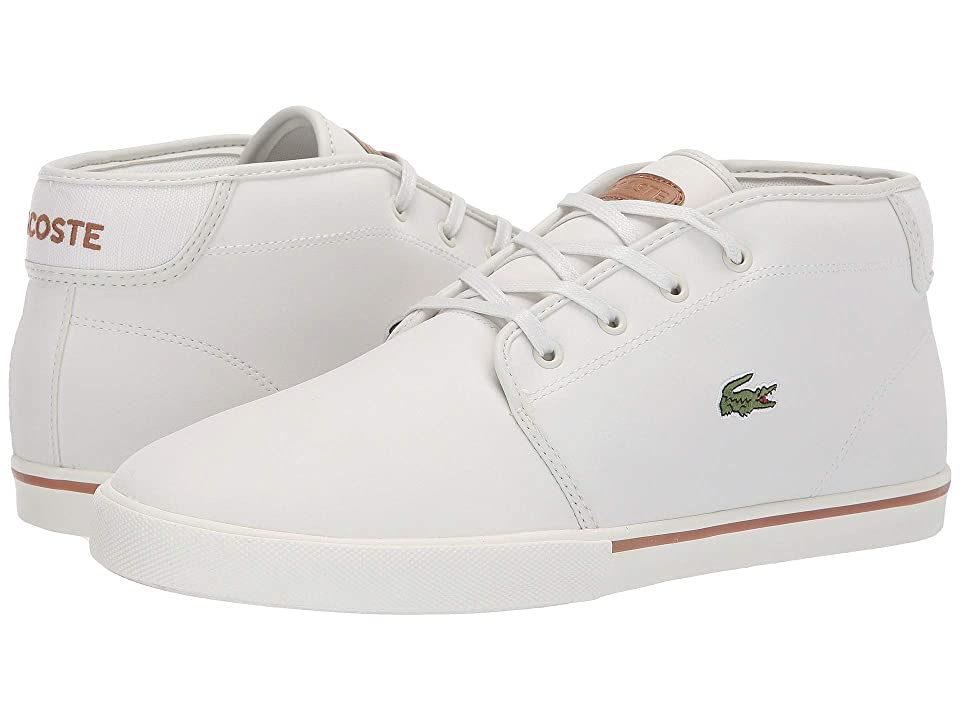 Lacoste Ampthill 119 1 CMA (Off-White/Light Brown) Men