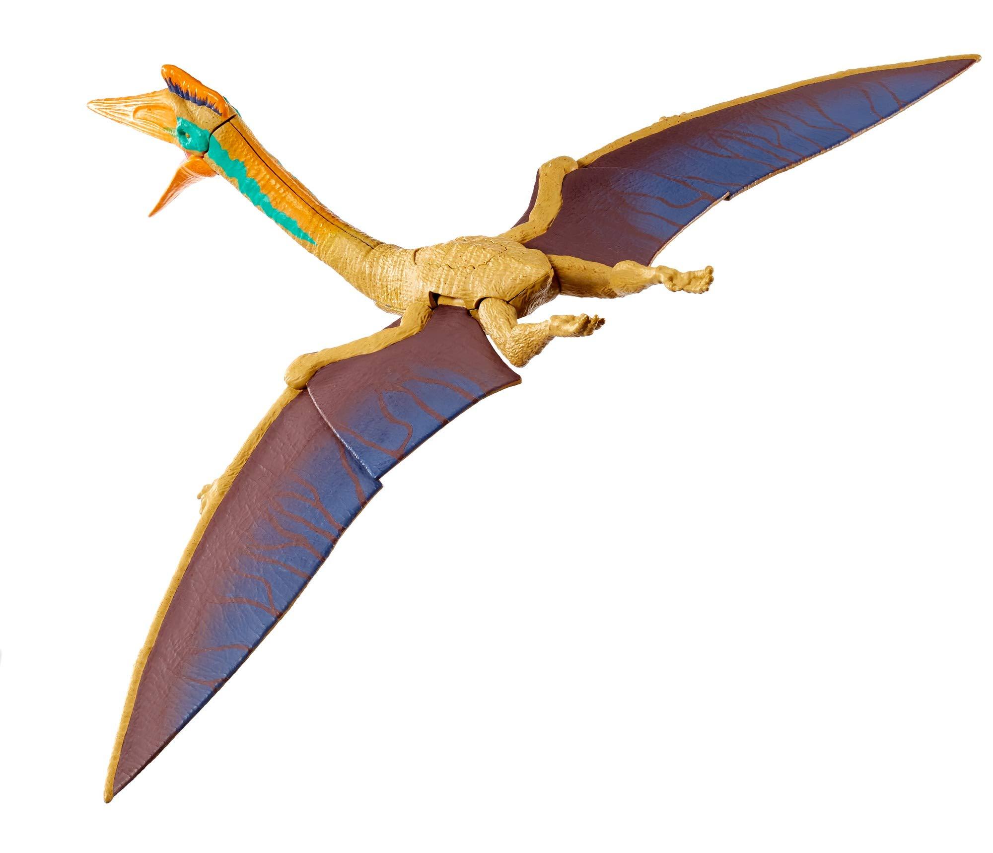 Jurassic World GFH08 MEGA Dual Attack Quetzalcoatlus, Multicolour