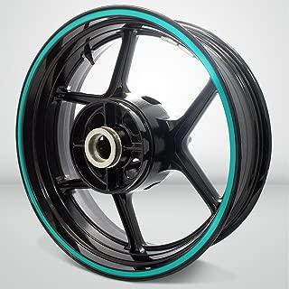 Thick Outer Rim Liner Stripe for Suzuki Bandit 1200 Matte Turquoise