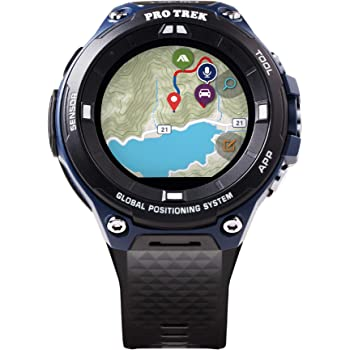 """Casio Men's""""Pro Trek"""" Outdoor GPS Resin Sports Watch"""