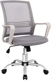 SMUGDESK Office Chair, Mid Back Mesh Office Computer Swivel Desk Task Chair, Ergonomic..