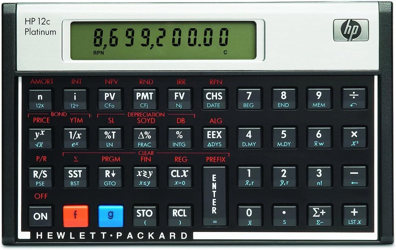 HP 12CP Financial Now on favorite sale Calculator Renewed