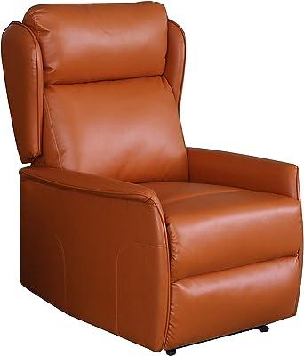 Peachy Amazon Com Rissanti 80152 Savona Recliner Chair Cognac Short Links Chair Design For Home Short Linksinfo