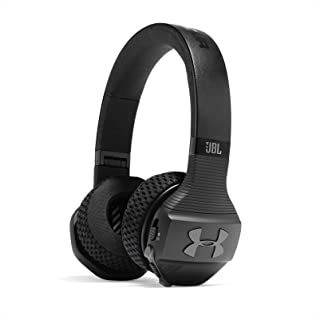 JBL Under Armour Sport Wireless Train – On-Ear Bluetooth Headphones with Microphone Made for Sport. Wireless Headset with ...