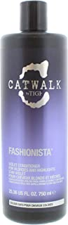 TIGI Catwalk Fashionista Violet Conditioner (For Blondes and Highlights), 25.36 Ounce