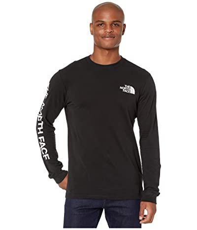 The North Face Long Sleeve Brand Proud Cotton Tee (TNF Black) Men