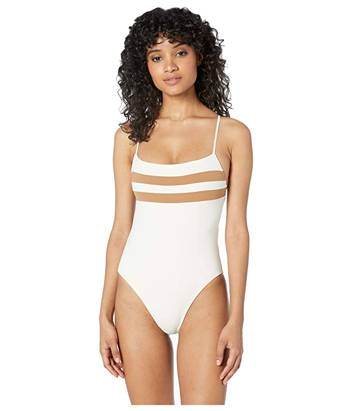 L*Space High and Mighty One-Piece (Cream) Women