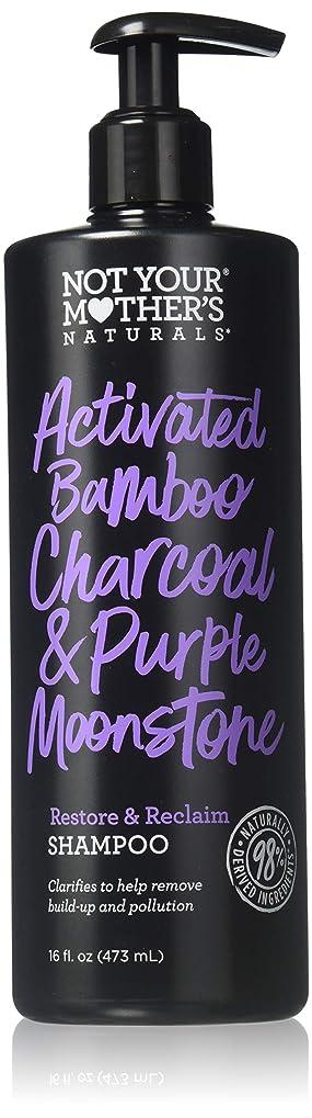 反発するスクリーチ影響するNOT YOUR MOTHER'S Activated Bamboo Charcoal & Purple Moonstone Shampoo, 16 FZ 141[並行輸入]