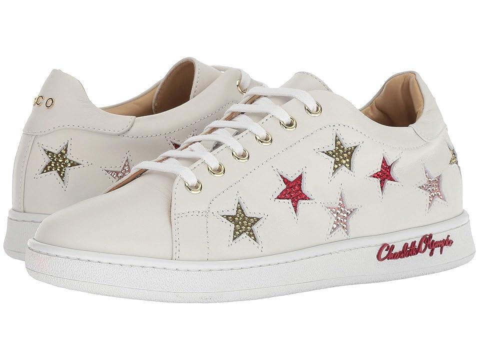 Charlotte Olympia Stars Sneaker (White) Women