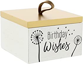The Bridge Collection 'Birthday Wishes' Decorative Box with 30 Wishing Cards