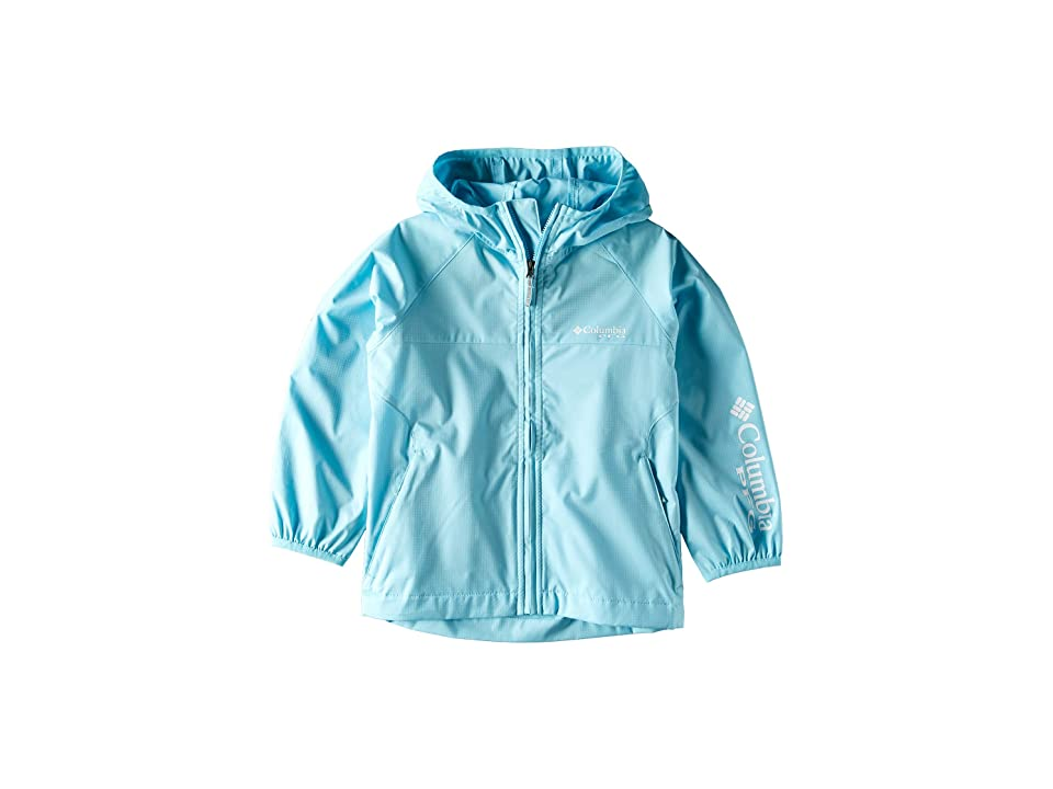 Columbia Kids Tamiamitm Hurricane Jacket (Little Kids/Big Kids) (Coastal Blue) Girl