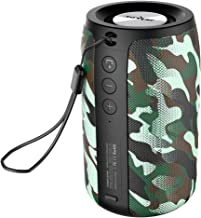 Wireless Bluetooth Speakers Zealot S32 Portable Speaker Hand Free Calls/Micro SD Card/U Disk/Line-in Modes Competible for iOS Andriod -Woodland Camo