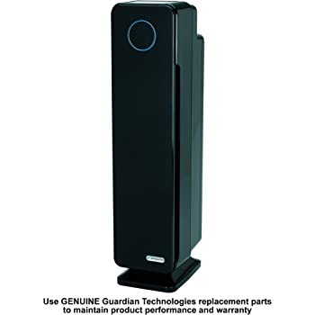 GermGuardian Elite AC5350B HEPA & UV-C Tower Plus Air Purifier Model: AC5350B