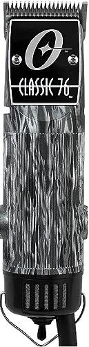 2021 Oster lowest Classic 76 Detachable Blade online sale Black Flames Pro Salon Professional Clipper Limited Edition outlet sale