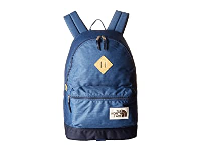 The North Face Berkeley Backpack (Shady Blue Light Heather/Urban Navy Light Heather) Backpack Bags