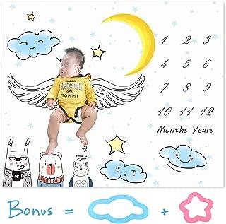 Baby Monthly Milestone Blanket Large 47