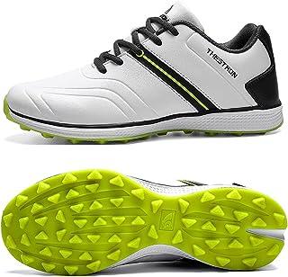 Golfschoenen voor heren, Man Golf Sportschoenen Waterdichte Mannen Golf Schoenen Grote Maat 39-47 Outdoor Training Sneaker...