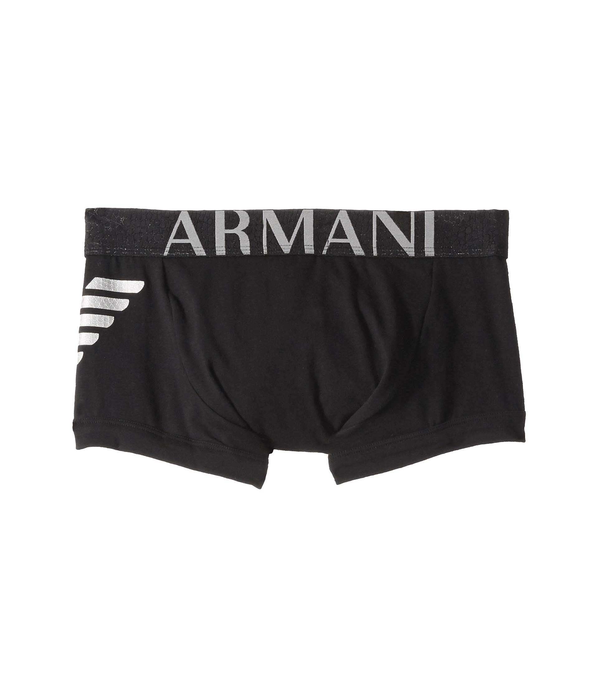 Big Fancy Black Trunk Eagle Emporio Armani 7TqCYw7cf