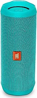 JBL FLIP 4 IPX7 Waterproof Wireless Portable Bluetooth Rechargeable USB Speaker (Teal) (Renewed)