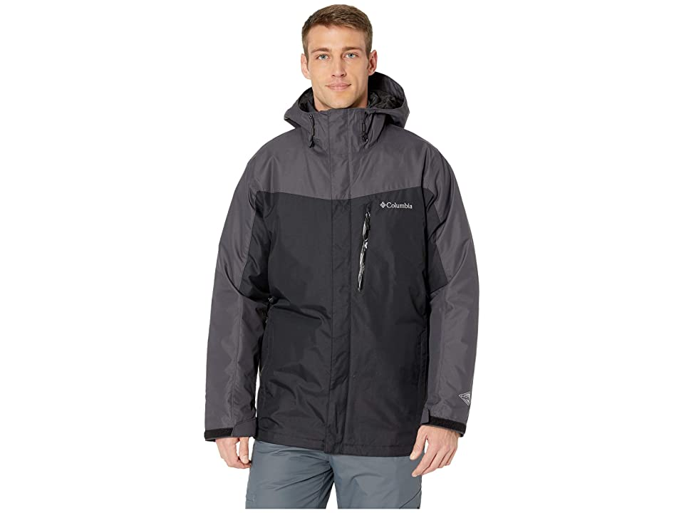 Columbia Whirlibirdtm III Interchange Jacket (Black/Black) Men