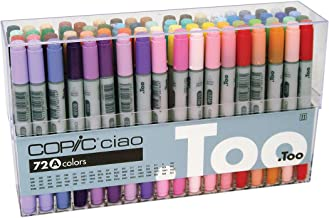 Copic Premium Artist Markers – 72 color Set A – Intermediate Level