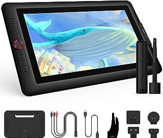 XP-PEN 液タブ 15.6インチ 液晶ペンタブレット 傾き検知 充電不要ペン 8個ショートカットボタン 初心者向け 入門 スタンド付 テレワーク Aritst 15.6 Pro