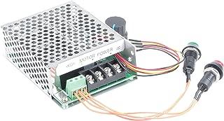 KNACRO PWM DC motor governor 12V 24V 36V 48V (10-50V) 40A 2000W reversing switch electric push rod motor controller button