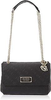 GUESS Womens Logo Love Cross-Body Handbag