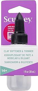 Sculpey Clay Softener: 1 Ounce Bottle, Clear