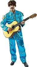Mens Blue Beatles Sergeant Pepper Lonely Hearts 60s Pop Star Fancy Dress Costume