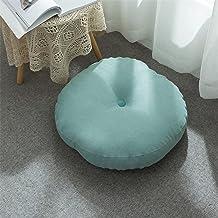 Home Acolchoados de assento redondos coloridos, linho de algodão Confortável jardim cozinha jantar cadeira almofada gravat...