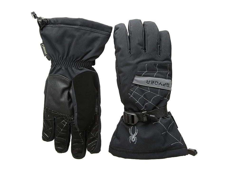 Spyder Overweb Gore-Tex(r) Ski Glove (Black/Polar 1) Over-Mits Gloves