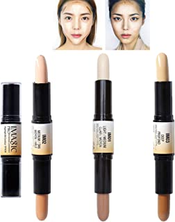FANICEA 6 Colors Contour and Highlighters Stick Wonder Stick 2 in 1 Dual-Head 3D Concealer Contouring Body Make Up Foundat...