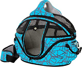 Lianlian Travel Bag Mochila Perro Mascota y Gato Portador de la Honda de Manos Libres Reversible Mascota Papoose Bolsa Verde Tama/ño: Grande Color : Blue
