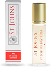 Bay Rum Cologne by St Johns. Enjoy as Mini Travel Size, or Sample   Premium Best Selling Bay Rum 10ML Roll On. Handcrafted. Bay Leaf Oils, Caribbean Spices   Holliday Gift Stocking Stuffer for a Man