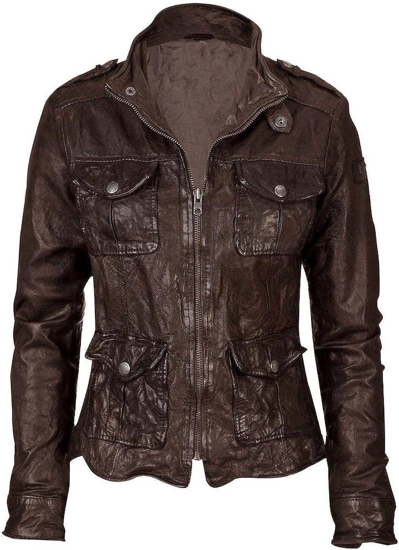 Fadcloset Elizabeth Womens Leather Jacket
