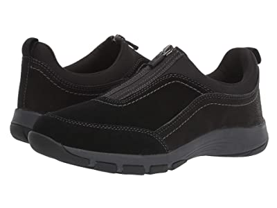 Easy Spirit Cave (Black Suede) Women