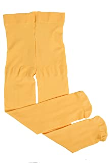 yellow toddler tights