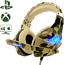 Gaming Headset for PS4 Xbox One PC, Beexcellent Deep Bass PS4 Headset with Noise Immunity..