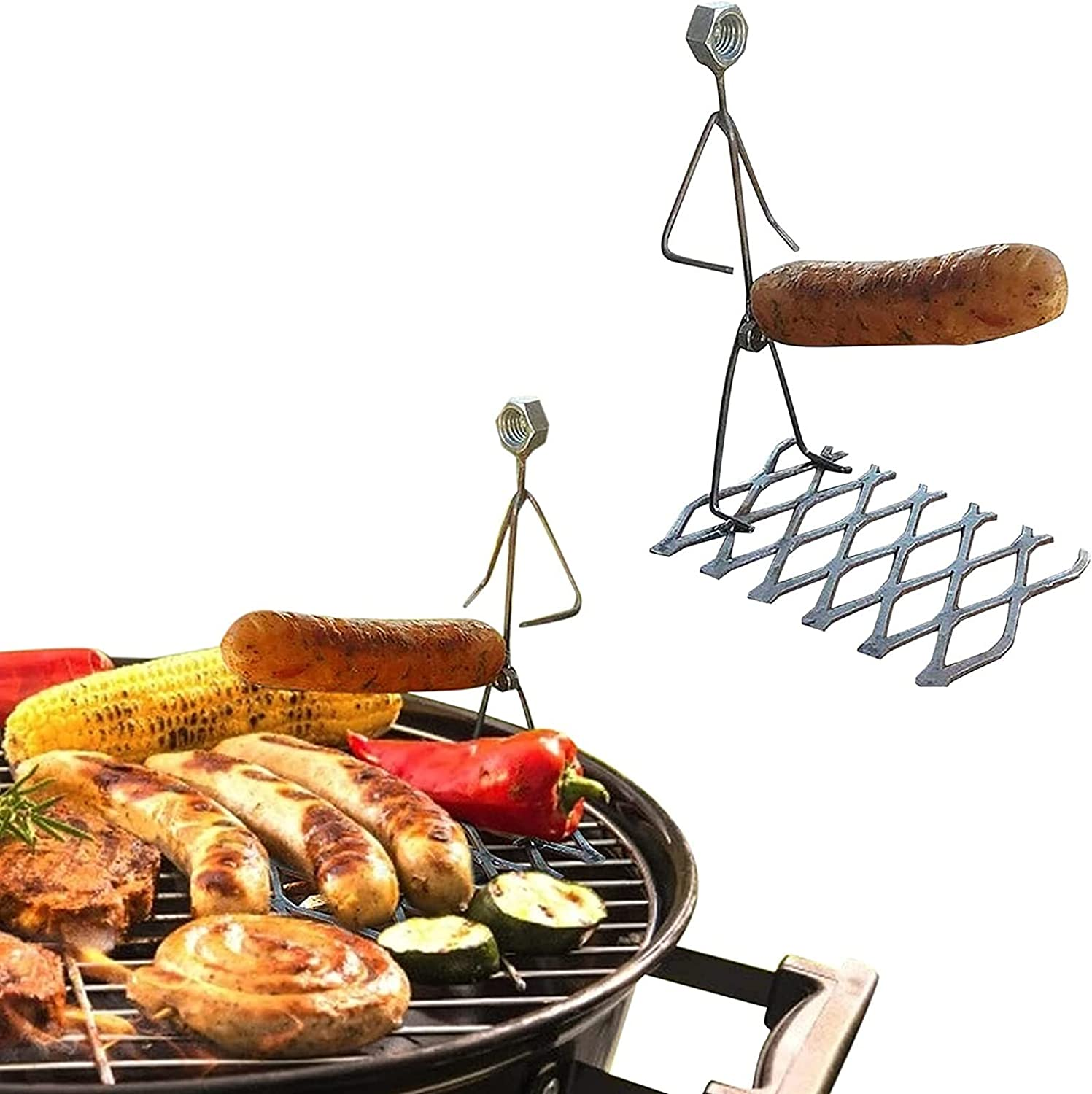 Barbecue fork Steel Hot Dog Marshmallow 5% OFF hot Women Roasters men Cash special price