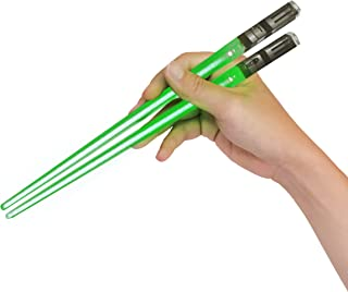 Sabers Chop Lightsaber Led Light Up Chopsticks 1 Pair Skywalker Green