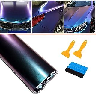 Pellicola Carbonio Blu 3D Adesivo Car Wrapping 100cm x 152cm