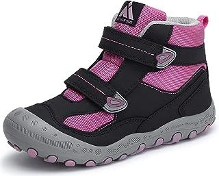 Mishansha Chaussures de Randonnée Enfant pour Garçon et Fille Antidérapant, Taille 24-38