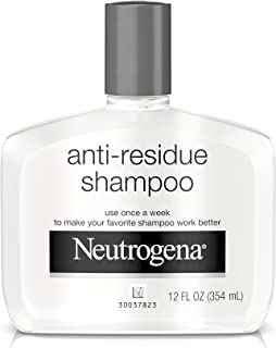 Neutrogena Anti-Residue Shampoo, Gentle Non-Irritating Clarifying Shampoo to Remove Hair Build-Up & Residue