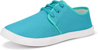 Earton Party Casual Shoes, Outdoor Boots,Canvas Shoes,Sneakers Shoes, Loafers Shoes, Light Weight, Walking Shoes, Rain Shoes, Rainy Shoes, Comfortable for Men's/Boy's (Light blue-1216)