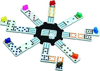 Mexican Train Domino Game with Aluminum Case (Full pack)